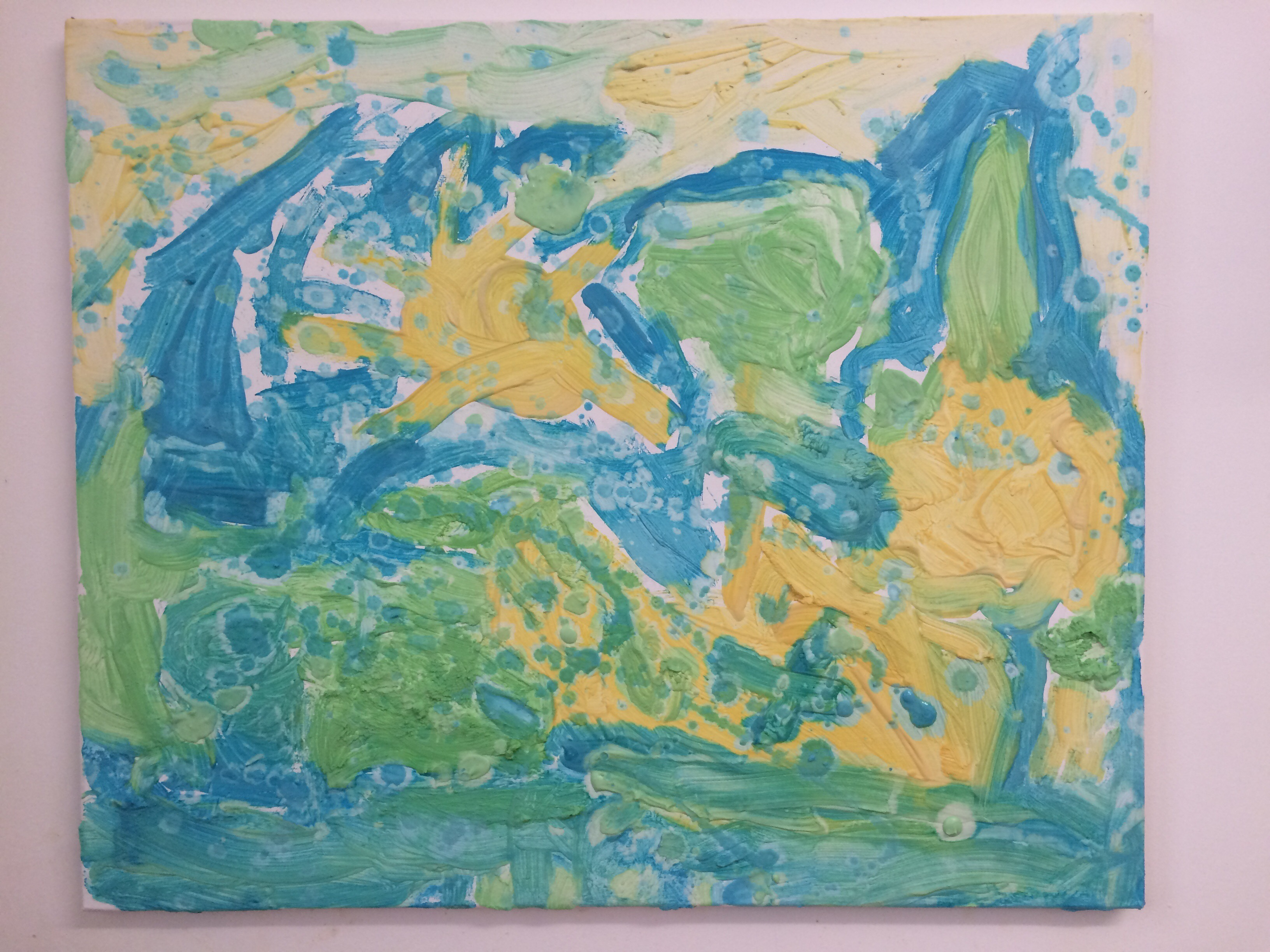 Plaster of Paris Painting – The Real Lara Shoe